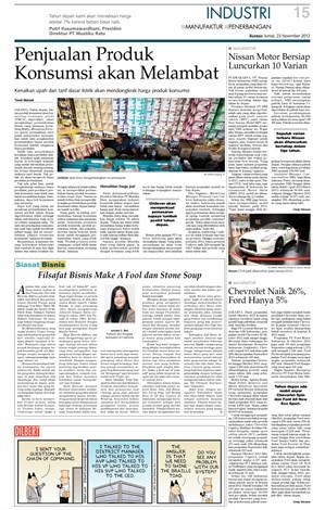 KONTAN Daily 23Nov2012