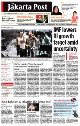 Jennie at Jakarta Post Sept 22 2011