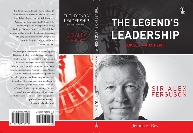 COVER Book Sir Alex Ferguson by Jennie Bev