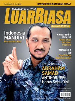 Cover Luar Biasa Maret 2014