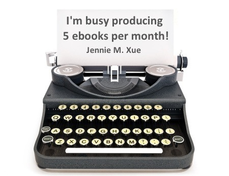 Typewriter 5 ebooks per month